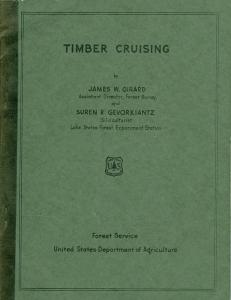 In 1939, Girard co-authored the book Timber Cruising, which became the best and most practical book on standing timber measurements for its time.